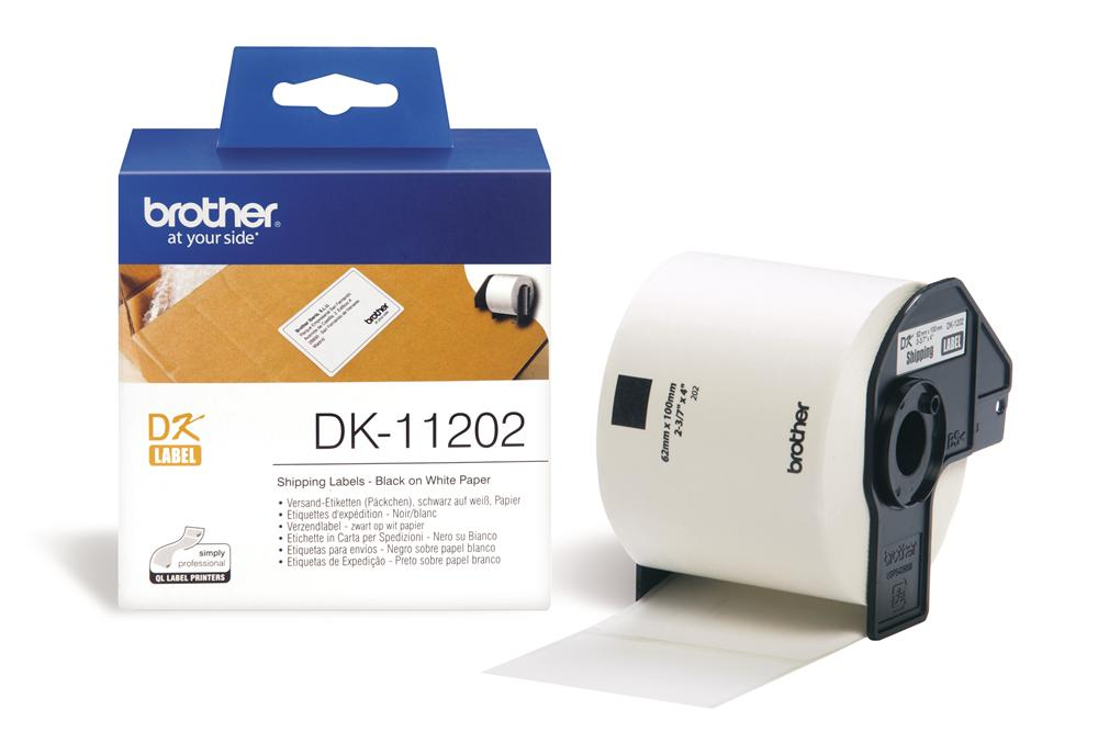 Nhãn Brother DK11202