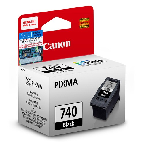 Mực in Canon PG-740 Blak Ink Cartridge