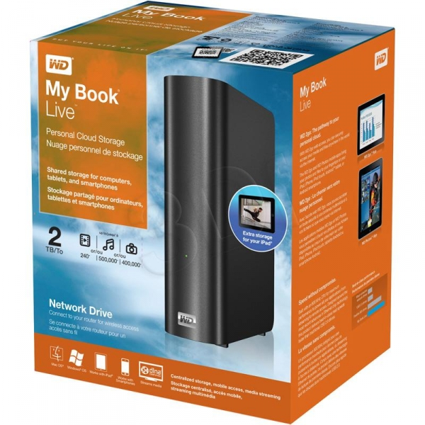 Ổ cứng My Book Live 2 TB Hard Drives ( WDBACG0020HCH)