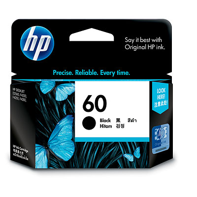 Mực in HP 60 Black Ink Cartridge (CC640WA)