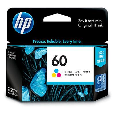 Mực in HP 60 Tri color Ink Cartridge (CC643WA)