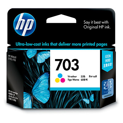 HP 703 Tri color Ink Cartridge (CD888AA)