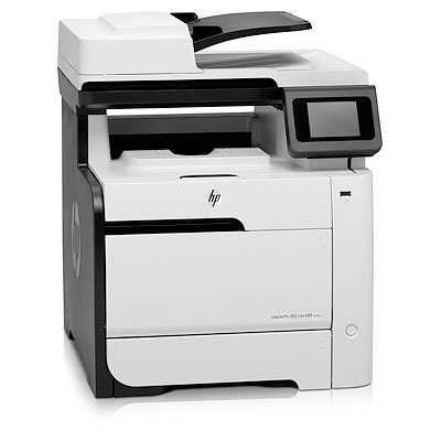 Máy in HP LaserJet Pro 300 MFP M375nw, Network, Wifi, In, Scan, Copy, Fax, Laser màu (CE903A)