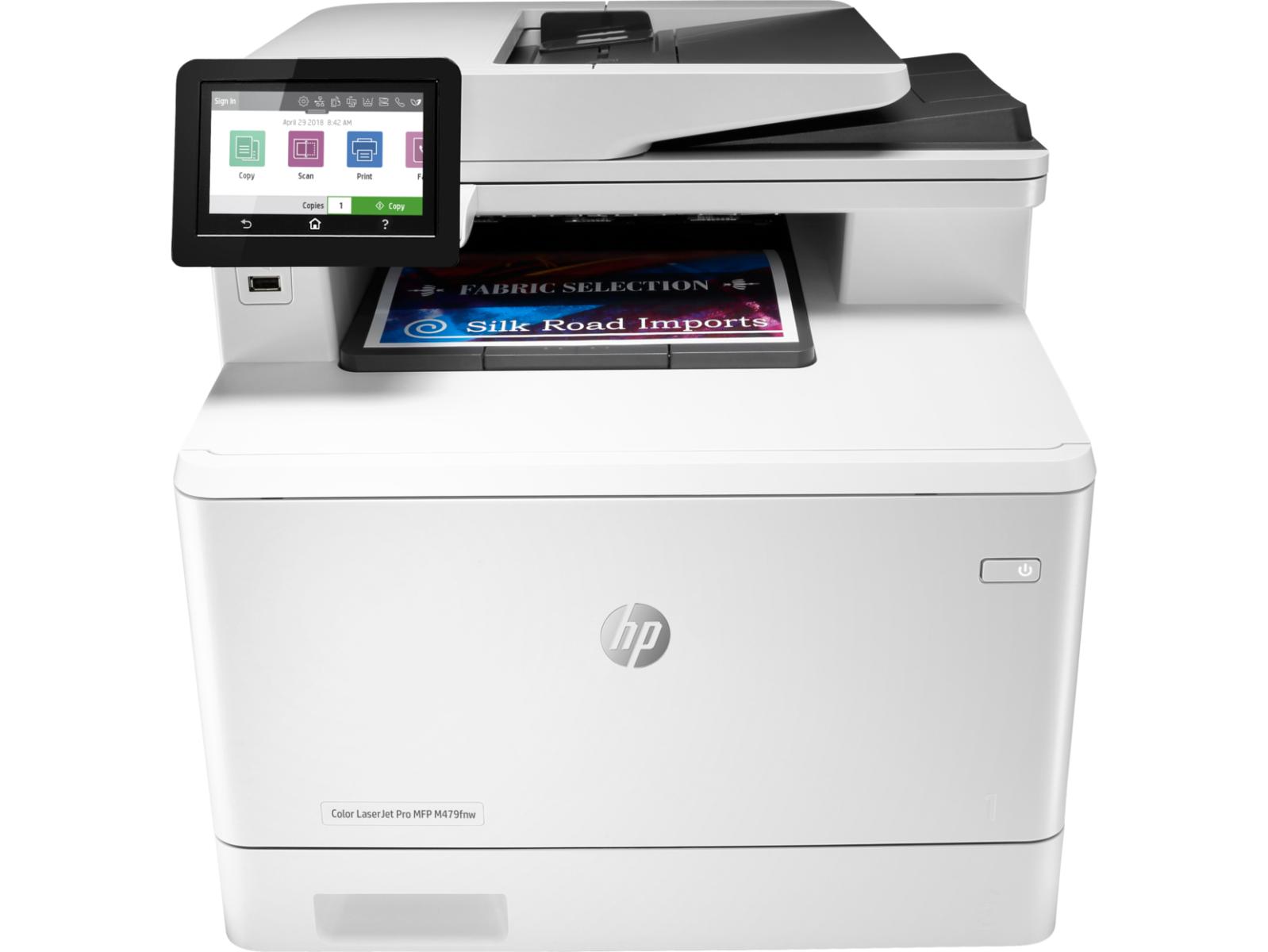 Máy in HP Color LaserJet Pro MFP M479fnw (W1A78A)