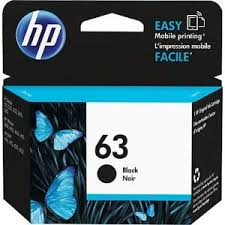 Mực in HP 63 Black Original Ink Cartridge (F6U62AA)