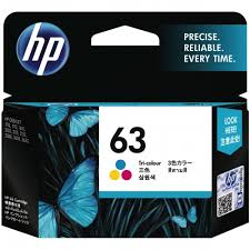 Mực in HP 63 Tri-color Original Ink Cartridge (F6U61AA)