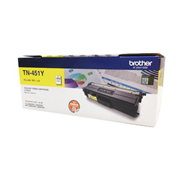 Mực in Brother TN-451Y, Yellow Toner Cartridge
