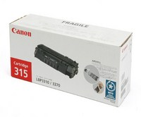 Mực in Canon 315 Black laser Toner Cartridge