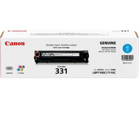 Mực in Canon 331C Cyan Laser Toner Cartridge