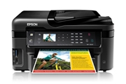 Máy in Epson workforce WF 3520, In, Scan, Photo, Wifi lắp hệ thống
