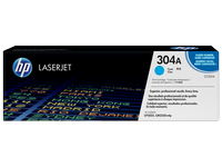 Mực in HP 304A Cyan LaserJet Toner Cartridge (CC531A)